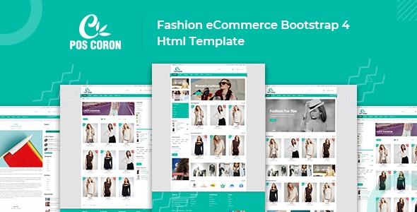 Coron – Fashion Store HTML Template - Fashion Retail