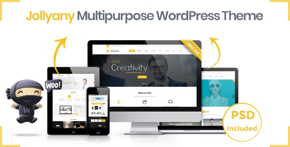 Jollyany - Corporate Multi Purpose WordPress Theme - Business Corporate