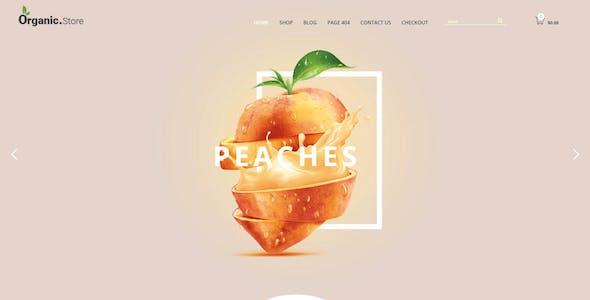 Foody - WordPress Restaurant Reservation & Food Store Website Theme