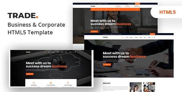 Trade - Multipurpose Business & Corporate HTML5 Template - Business Corporate