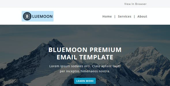 Bluemoon - Multipurpose Responsive Email Template