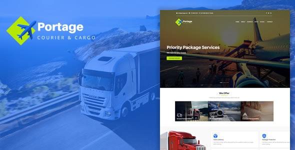 Portage - Cargo & Logistics HTML Template - Corporate Site Templates
