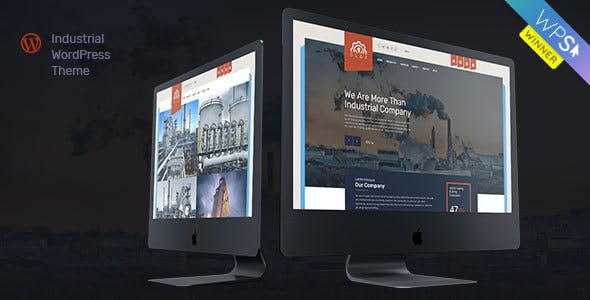 Industry Glax | Industry & Factory WordPress Theme for Industry