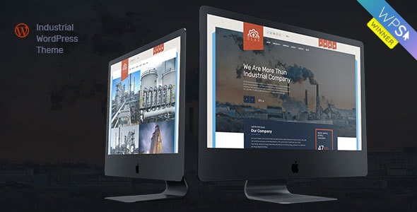 Glax | Industry WordPress Theme - Business Corporate