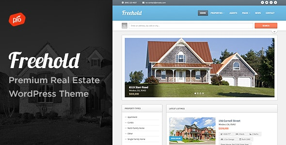 Freehold - Responsive Real Estate Theme - Real Estate WordPress