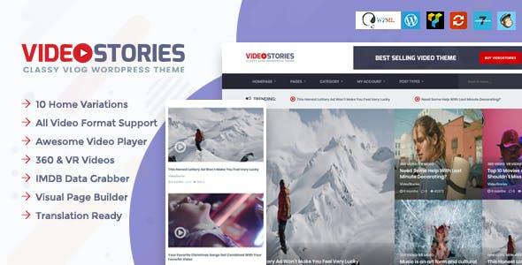 VideoStories – WordPress Video Theme