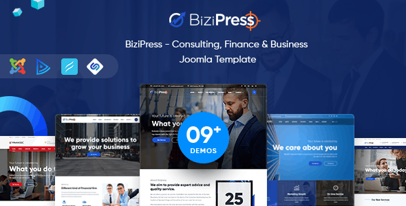 BiziPress - Multipurpose Joomla Template - Business Corporate