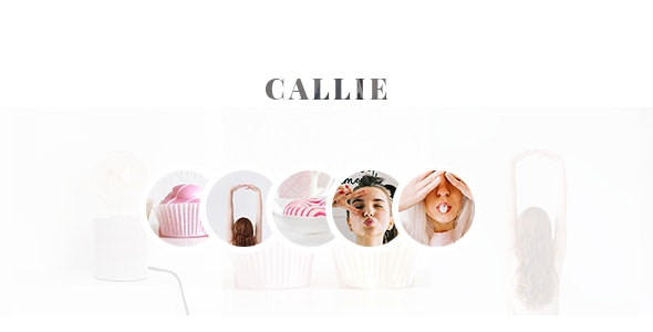 Callie - Story Blog Template - Personal Site Templates