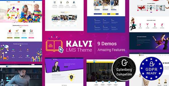 Kalvi Education | LMS Education Theme