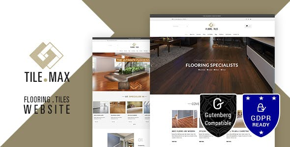Flooring Website Templates From Themeforest