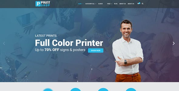 Web To Print Templates from ThemeForest