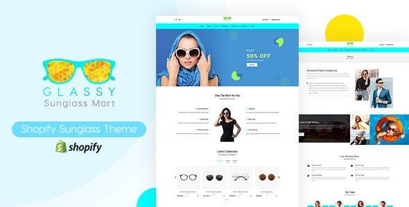 Glassy - Sunglasses, Fashion Shopify Theme - Fashion Shopify