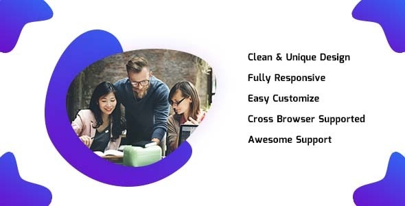 EAM - Agency and Businesss HTML5 Template - Business Corporate