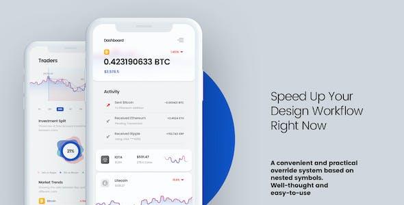 CryptoCamp Mobile UI Kit