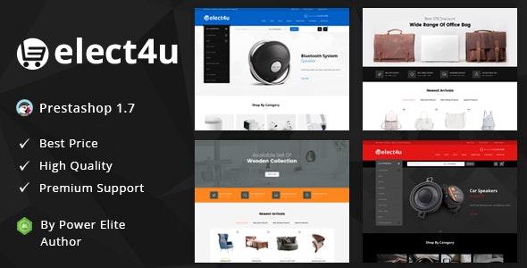 Elect4u - Responsive Prestashop 1.7 Theme - Shopping PrestaShop