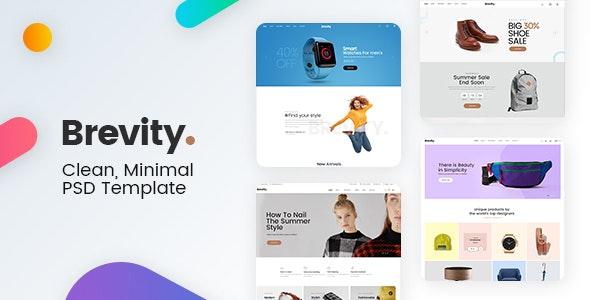 Brevity - Mutilpurpose eCommerce PSD Template - Shopping Retail