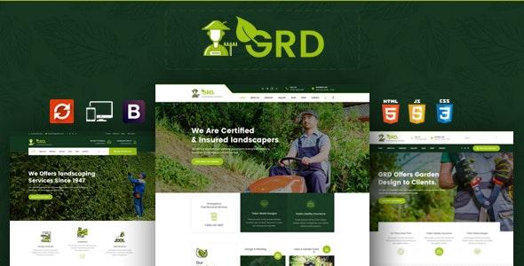 GRD - Garden Landscaper HTML Template - Business Corporate