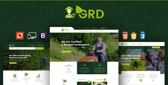 GRD - Garden Landscaper HTML Template