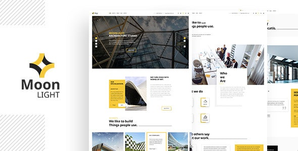 Moonlight - Architecture, Decor & Interior Design WordPress Theme - Creative WordPress