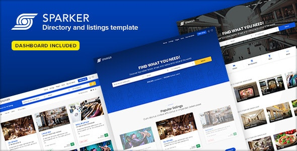Sparker - Directory and Listings Template by Ansonika | ThemeForest