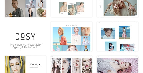 Cosy | Photography PSD Template - Photography Creative