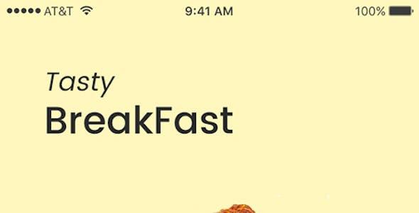 Enatega - Food Delivery Mobile App PSD