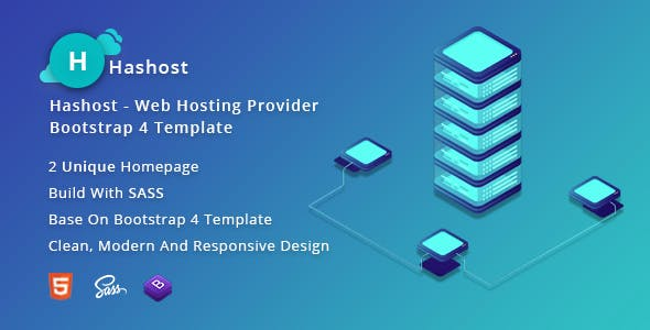 HasHost – Web Hosting Bootstrap 5 Template