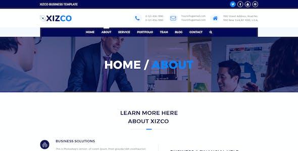 Xizco Multipurpose Business & Finance Template