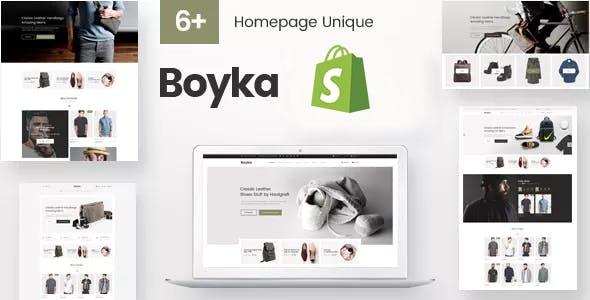 Boyka - Fashion Shopify Theme