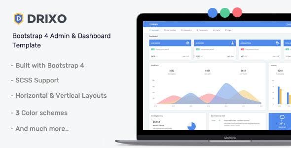 Drixo - Admin & Dashboard Template - Admin Templates Site Templates