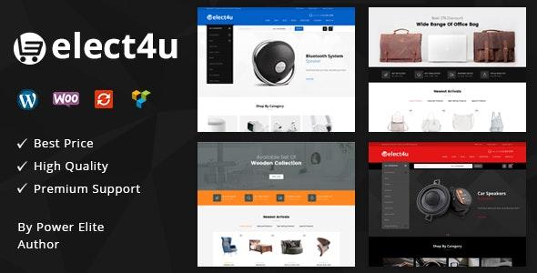 Elect4u - Multipurpose WooCommerce Theme - WooCommerce eCommerce