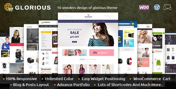 Glorious - WooCommerce Responsive Theme - WooCommerce eCommerce