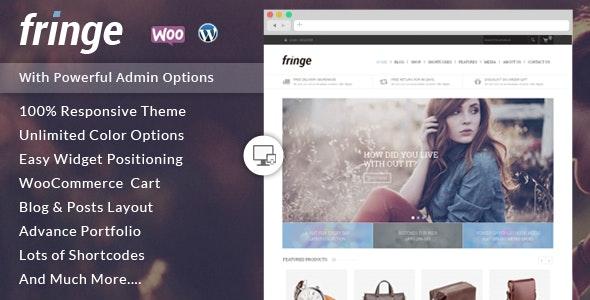 Fringe - WooCommerce Responsive Theme - WooCommerce eCommerce