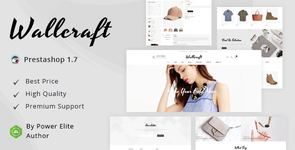 Wallcraft - Responsive Prestashop 1.7 Theme - Fashion PrestaShop