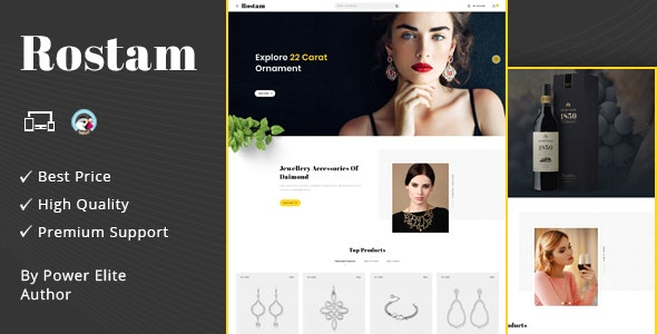 Rostam - Responsive Prestashop 1.7 Theme - Fashion PrestaShop