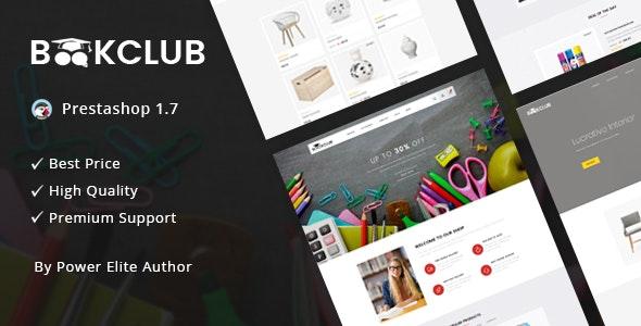 Book Club - Responsive Prestashop 1.7 Theme - Miscellaneous PrestaShop