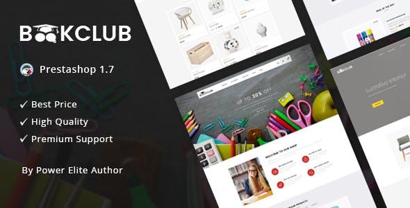 Book Club - Responsive Prestashop 1.7 Theme