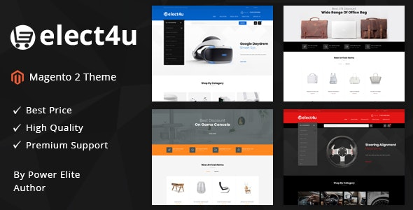 Elect4u - Responsive Magento 2 Theme by TemplateMela | ThemeForest