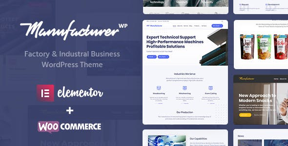 Trading Company Website Templates from ThemeForest