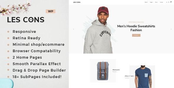 Lescons - Minimal WooCommerce Theme - WooCommerce eCommerce