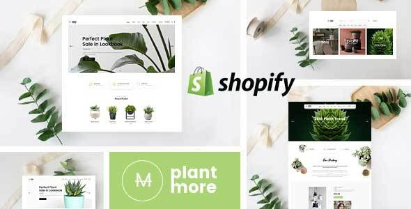 PlantMore - Flower Nursery Shopify Theme - Shopping Shopify