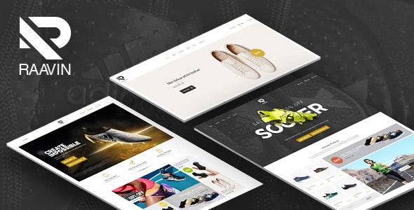 Raavin - Shoe Store HTML Template - Shopping Retail