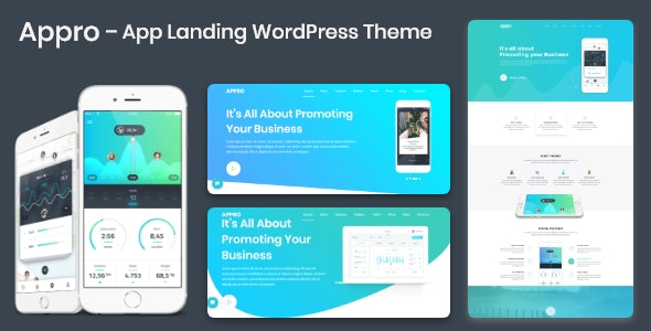 App Landing Theme Appro - Software Technology