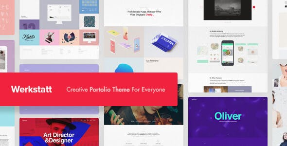 Werkstatt - Creative Portfolio WordPress Theme