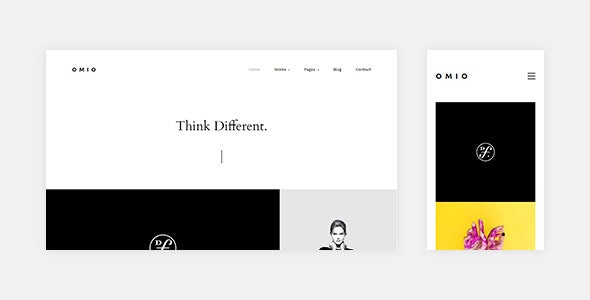 Omio - HTML Portfolio Template - Creative Site Templates