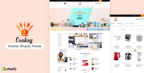 Cooksy - Kitchen Utensils Shopify Theme - Shopify eCommerce