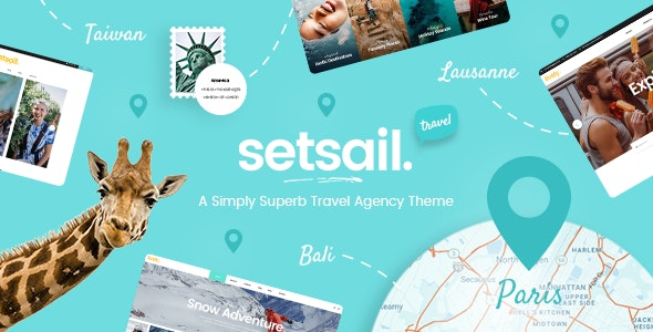 SetSail - Travel Agency Theme - Travel Retail