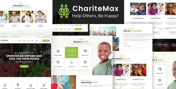 ChariteMax - Charity NonProfit HTML Template - Charity Nonprofit