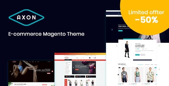 Axon - Responsive Magento 2 Theme - Fashion Magento