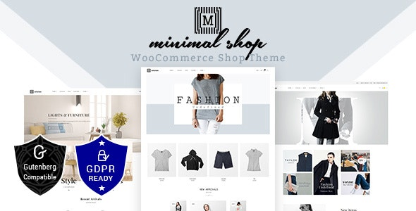 Minimal Woocommerce - Shopping Retail
